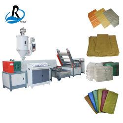 Des PlastikSD-80 pp. gesponnene Garn-Verdrängung-Maschinen-Zeile/flach Garn Beutel-Extruder-pp. flache, das Maschine herstellt