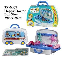 De peuter Plastic Medische Uitrusting van het Hulpmiddel van het Stuk speelgoed van de Zak voor het Stuk speelgoed van de Nieuwigheid van Kinderen