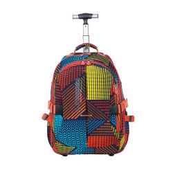 Walzen-Schule-Laufkatze-Beutel-Rucksack mit Rad-reisendem Kasten für Kind-Frauen