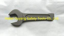Clé à molette frappant l'extrémité ouverte de 60 mm, 40 Cr-V Outils à main en acier