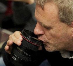 Nova Caneca Lente da câmera Caneca Cup