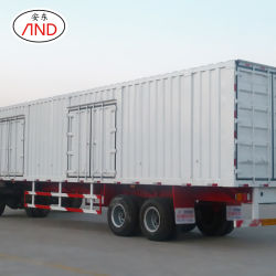 Professional ProductionヴァンSemi-Trailer 3の車軸貨物容器