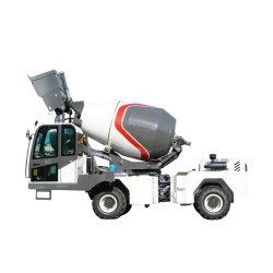 移動式具体的なコンクリートミキサー車の構築の混合機械機械装置のトラックをロードしている1.2cbm重い自己