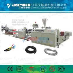 熱い販売PVC PE PPのプラスチック波形の管の放出装置機械プラント/生産ライン