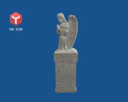 Natürlicher Granit-Engel gestaltet UntersatzerinnerungsOssuary für Garten-Stein-Produkte