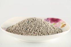 Acumulación de arena blanca de bentonita/cat cat litter