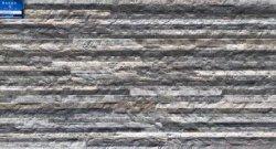 Cultuur Stack stenen look 3D ruw oppervlak Matrijs geglazuurd 300X600mm Decoratieve keuken Badkamer woonkamer Slaapkamer keramische muurtegels SL36031
