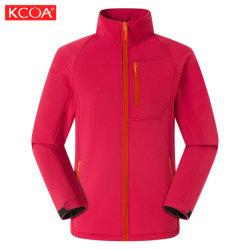 Rivestimenti & cappotti su ordinazione esterni rossi di Softshell degli uomini del pattino di alta qualità