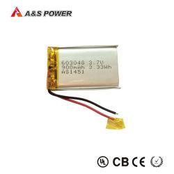Werkseitig Wiederaufladbarer Lipo-Akku 603048, 3,7 V, 900 mAh, Li-Polymer-Akku für Gameplayer