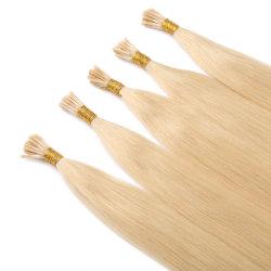 [إيكي] مستقيمة [إيي] طرف شعر لنساء سوداء [فجل] برازيليّة تمديدات الشعر الكيراتين البشرية 1غ/ستراند 100strand