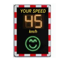 Nouveau design en aluminium de limite de vitesse de la sécurité routière signe de la route à LED