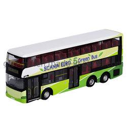 Kundenspezifische Simulations-doppel-wandiges Bus-Miniatur-Modell