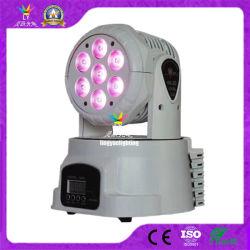Träger-Stadiums-Beleuchtung der DJ-Disco-7X10W bewegliche des Kopf-LED