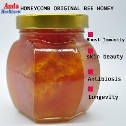 نحلة منتوجات علبيّة عسل 100% طبيعيّ عضويّة وحشيّة [شنس] [هربل مديسن] يمدّد عسل, ثمين نادر, لا مضادّ للجراثيم, لا مبيد, حياة نجم عسل