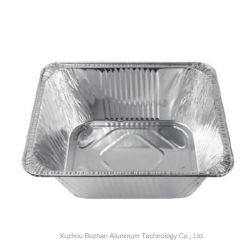 Nouveau produit pour conteneur rectangulaire en aluminium pour l'alimentation