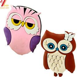 Custom Promotion Cute Owl PVC Koel magneet (YB-HR-9)