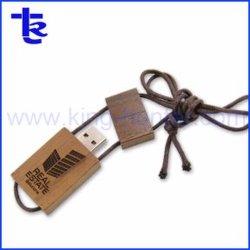 Лучшая цена индивидуальный логотип деревянные USB флэш-диск в подарок для продвижения