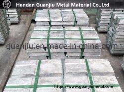 SGS утвердил Shg Чистый цинк слитков 99.995% с сертификатом качества металлов Ingot цинка