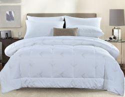 Высокое качество вышивка отель Home одеялом утка пуховое одеяло