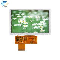 "Sun lisible 5"" 800*480 12o'clcok 850nits TFT LCD LCM"
