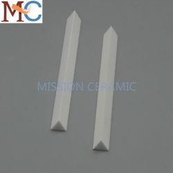 95%のアルミナ三角の陶磁器の棒
