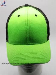 Form kundenspezifische Baseballmütze, Ineinander greifen-Fernlastfahrer-Schutzkappen-Ineinander greifen Sports Schutzkappe