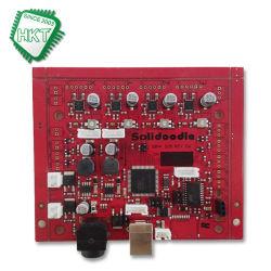 مكونات شركة Shenzhen Electronics مجموعة PCBA قناع اللحام الأحمر طابعة ثلاثية الأبعاد مطلية بالذهب تجميع لوحة PCB