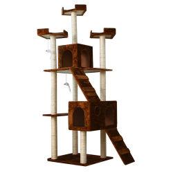 2021년 새롭게 선보이는 스타일리시한 Cat 타워 PET Play 하우스 Cat 액티비티 나무 콘도 가구 선인장 고양이 나무