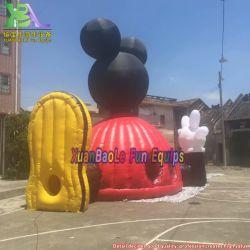 Hot sale forma personalizzata Pubblicità bomboletta a cupola gonfiabile, Casa da gioco gonfiabile per bambini
