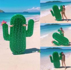 Personnalisable PVC écologique Cactus gonflable Matelas à air