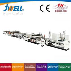 Feuille de creux Jwell PP/Conseil/la plaque de ligne d'Extrusion/PP/ de la machine de l'extrudeuse