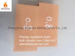 Vuurklei Thermisch isolatiemateriaal Vuursteen licht Gewicht Brick Ng0.8