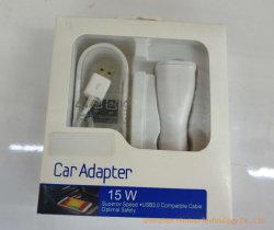 Une interface de haute qualité 5,1V Chargeur de voiture pour Samsung Adaptive charge rapide