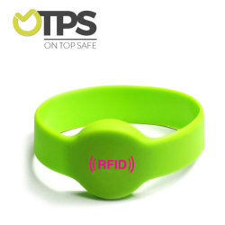 El deporte de poliéster de tenis, fútbol de la salud Pulsera Chip RFID de concierto de la muñequera NFC