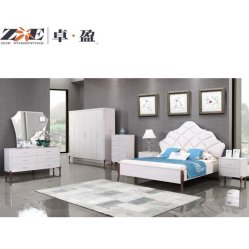 Luz de europeus de alta classe de tamanho King Luxuoso Design clássico mobiliário de quarto