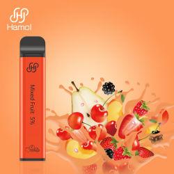 مرشح فم مزدوج النكهات متعدد الألوان غير قابل لإعادة الشحن مصفى مصفى إلكترونيات الشفط من نوع E-Cigarette يمكن التخلص منه فابي