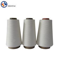 뜨개질을 하기를 위한 좋은 품질 100% 비스코스 털실 40s 레이온 반지에 의하여 회전되는 털실