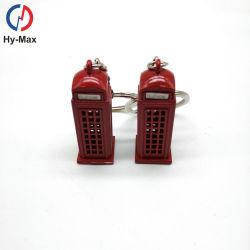 Cabina di telefono della cassetta postale del bus di Keychain Londra del metallo di Londra dei regali del ricordo