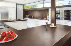 Gesinterde stenen Luxe Achtergrond graniet paneel Keuken Countertop Model