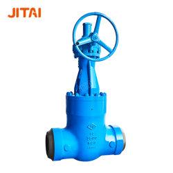 Pression manuelle à fond d'alésage complet en acier allié industriel flexible OS&Y. Fermez la vanne de la vanne de la vanne de la vanne de la vanne de vapeur haute pression