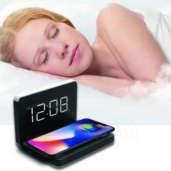 USBのパワーアウトレットFoldable表の目覚し時計