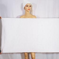 تجفيف سريع فندق أبيض ناعم غير منسج أبيض رخيص صديق للبيئة، منشفة الحمام التي يمكن التخلص منها بعد الاستخدام