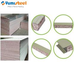 Elevado nível de resistência a fogo NF Painel Composto de aço do tipo sanduíche de EPS para parede/tecto