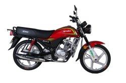 Een kv150-miniKruis Moto die van het Gas Hond de MiniMotor van de Fiets van de Zak van de Motorfiets rennen