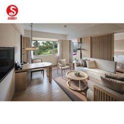 Hotel De madeira maciça de estilo moderno Quarto quarto conjunto de móveis