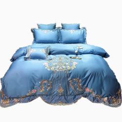 Stepped Sofa-Bezug Bett Bettdecken Satinstreifen Bettbezug