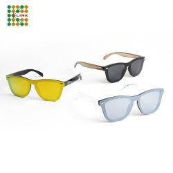 La fabbrica di OEM/ODM mette in mostra occhiali da sole polarizzati ottici di colore chiaro di modo di marca i nuovi per gli uomini/donne/capretto (S091)