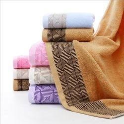 Сплошным цветом Терри обычный домашний силы хлопок с полотенце