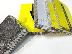A2 Placa de alumínio alveolado corta-fogo