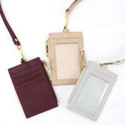 Fancy Wholesale Travel Bureau multifonction en cuir de l'école titulaire de carte de crédit Luggage Tag avec cadeau de promotion de la chaîne de clé